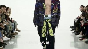 'Sibling Fall/Winter 2016/2017 Menswear Collection - London Fashion Week'