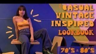 'CASUAL 70\'s & 80\'s LOOKBOOK   vintage style'