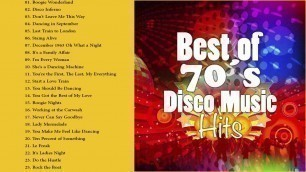 'Best Songs of 70\'s Disco Music | Greatest Hits of Seventies Disco Fashion'