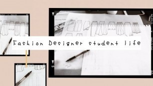 A day of life as a fashion designer student part 2
