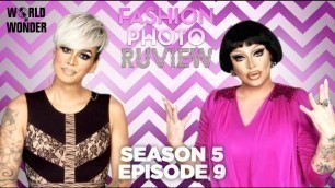 "'RuPaul\'s Drag Race Fashion Photo RuView with Raja and Raven: Season 5 Episode 9 \""Spanish Telenovela\""'"