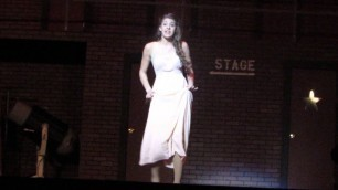 'Adara Mifsud as Lois in show Kiss Me Kate singing Always True To You In My Fashion'
