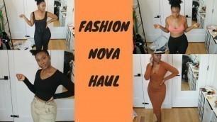 'HUGE Fashion Nova Haul-Fashion Nova made this just for me :)'