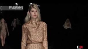 'BLUMARINE Milan Fashion Week Fall 2015 by Fashion Channel'