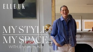 My Style, My Space | Fashion Designer Jenna Lyons Walks Us Through Her New York Apartment | ELLE UK