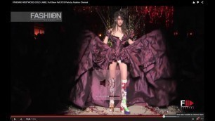 'VIVIENNE WESTWOOD GOLD LABEL Full Show Fall 2015 Paris by Fashion Channel'
