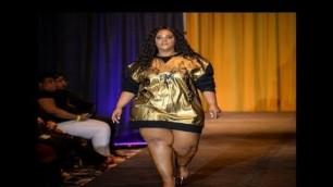 'Plus Size Fashion Show    Fashion Weekend Plus Size 2018'