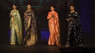 'Best Top Indian Saree Fashion Show Top Indian Model In Sarees'