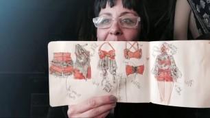 'Fashion Designing: Part 2 Croquis book- fashion quick- sketching 2'