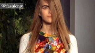 'Altuzarra Runway Show - New York Fashion Week Spring 2012 NYFW ft Izabel Goulart | FashionTV - FTV'