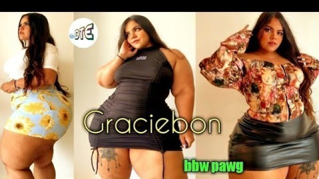 'Plus size Model BodyPositive BBW - GRACIEBON | Thick Women Fashion Outfit Ideas'