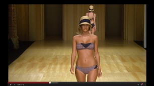 """'\""""GUILLERMINA BAEZA\"""" LIVE Spring Summer 2015 080 Barcelona Full Show by Fashion Channel'"""