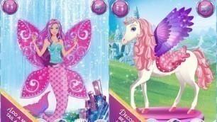 'Barbie Magical Fashion Dress Up Part 1 - top app demo for kids - Ellie'