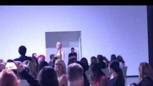 'Arianna Folsom OC fashion week'