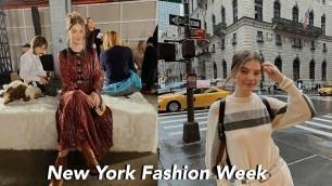 'Follow Me Around NYC during Fashion Week!'