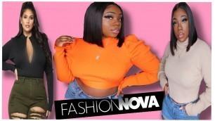 'OPPS. I Did It AGAIN !!! Fashion Nova Haul  | ASHLEY CHEVALIER'