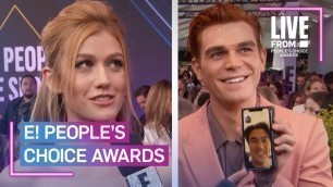 'Fan-Favorite Casts at E! People\'s Choice Awards   E! People's Choice Awards'