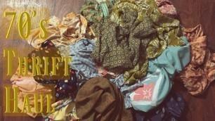 'Thrift Haul : Tops | 60s/70s style'