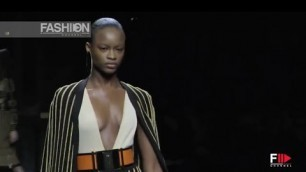 'BALMAIN Fall 2015 Paris Highlights - Fashion Channel'