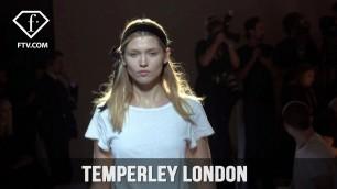 'London Fashion Week Fall/WItner 2017-18 - Temperley London Hairstyle | FashionTV'