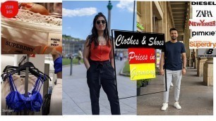 'Shopping Outing Stuttgart - cost of shoes & clothes in Germany ?'
