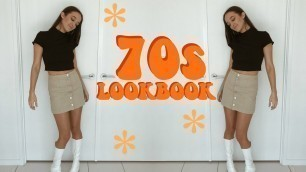'70S INSPIRED LOOKBOOK // HOW TO STYLE GOGO BOOTS'