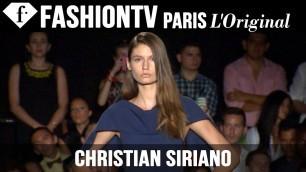 'Christian Siriano Spring/Summer 2015 Runway Show | New York Fashion Week NYFW | FashionTV'