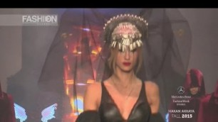 'HAKAN AKKAYA Full Show Istanbul Fashion Week Fall 2015 by Fashion Channel'
