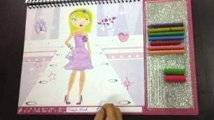 'Fashion Angels Toys | Fashion Design Sketch Portfolio Toy Review'