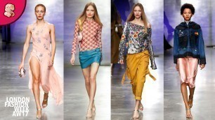 'Topshop Unique | London Fashion Week AW17 | Full Catwalk'
