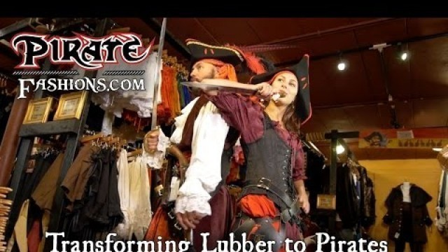 'Visiting Pirate Fashions'
