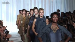'First plus size fashion show held in New York'