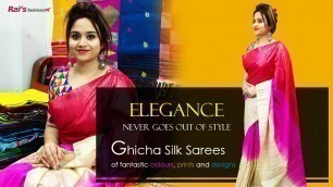 'Elegance Never Goes Out Of Style - GICHA SILK - Sarees Collection (02nd December) - 01DA'