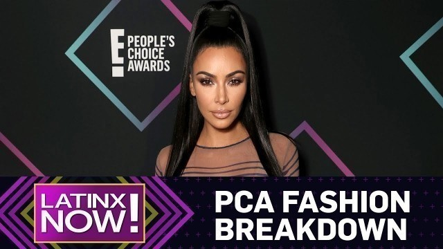 'E! People\'s Choice Awards Red Carpet Fashion Breakdown | Latinx Now! | E! News'