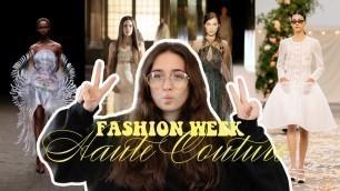 'Fashion Week - Haute Couture 2021(SCHIAPARELLI, CHANEL, DIOR, FENDI,...)'