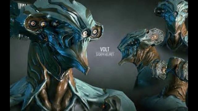 'Warframe Volt and Volt Prime'