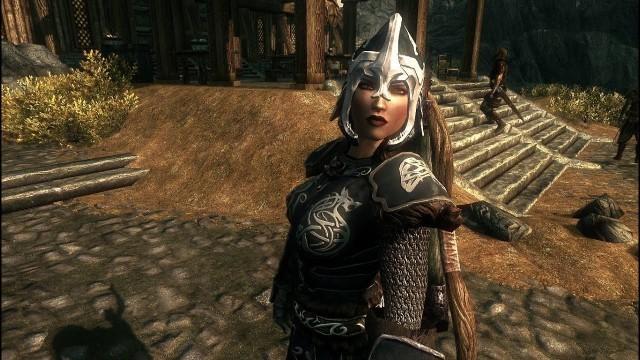 'Skyrim - Female Fashion Show - Wolf Armor'