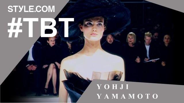 'Yohji Yamamoto's Transformative Wedding Collection- #TBT with Tim Blanks -Style.com'