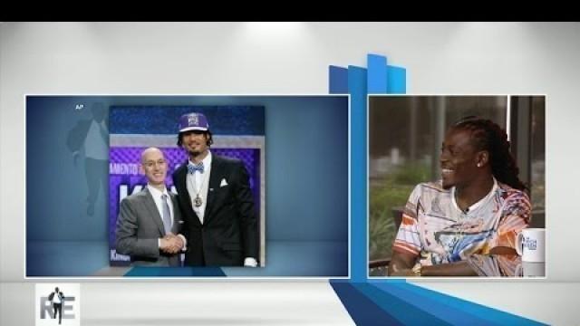 'Rich Eisen Show Fashion Expert Dre Kirkpatrick Comments on NBA Draft's Fashion - 6/26/15'