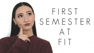 'My First Semester At FIT Experience || Fashion Institute Of Technology || BeautyChickee'