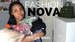 'FASHION NOVA Try On Haul | Fashion Nova Black Friday Sale'