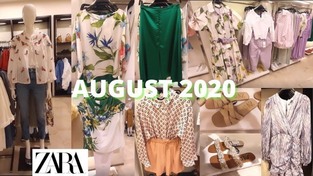 'ZARA SUMMER 2020 Collection -AUGUST 2020 ! Women\'s fashion with PRICES!'