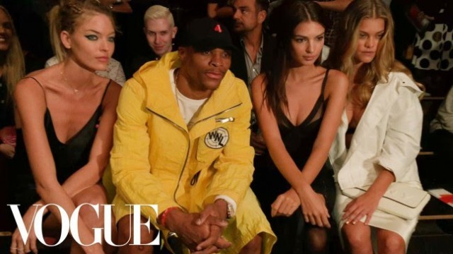 'NBA Star Russell Westbrook's 5 Tips for a Winning New York Fashion Week   Vogue'
