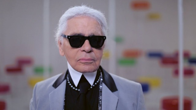 'Karl Lagerfeld on the Cruise 2015/16 Show – CHANEL Shows'