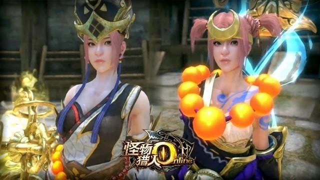 'Monster Hunter Online - Journey to the West Fashion vs Weapons Skin Tang Sanzang vs Sha Wujing'