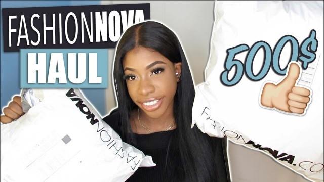 '500$ FASHIONNOVA TRY-ON HAUL