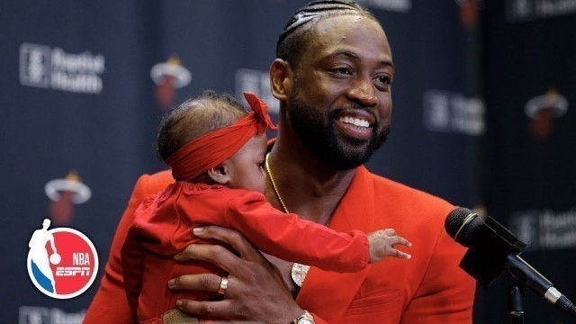 'I went out in 'D-Wade fashion'- Dwyane Wade on final game in Miami | NBA on ESPN'