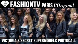 'Victoria\'s Secret Fashion Show 2014-2015: Angels Photocall ft Adriana Lima | FashionTV'
