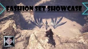 'Monster Hunter World | Fashion Set Showcase | mizuxtsune'