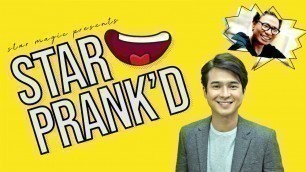 'Star Prank\'d with Jerome Ponce and Fashion Designer Avel Bacudio'